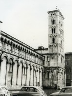 Italie Lucques Lucca Eglise San Michele In Foro Ancienne Photo 1961 - Places