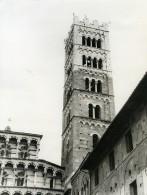 Italie Lucques Lucca Dome Et Campanile Ancienne Photo 1961 - Places