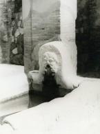 Italie Herculanum Ancienne Photo 1961 - Places