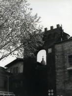 Italie Buonconvento Porta Senese Ancienne Photo 1961 - Places