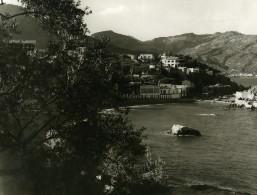 Italie Sicile Lido Mazzaro Ancienne Photo 1961 - Places