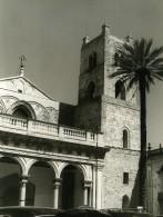 Italie Sicile Monreale Eglise Ancienne Photo 1961 - Places