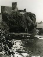 Italie Sicile Catania Aci Castello Ancienne Photo 1961 - Places