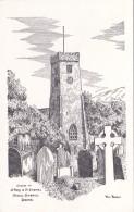 STOKE GABRIEL - CHURCH OF  ST MARY @ ST GABRIEL. 2 CARDS - England