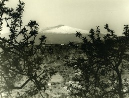 Italie Volcan Etna Panorama Ancienne Photo 1961 - Places
