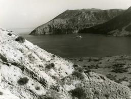 Italie Iles Eoliennes Ile Vulcano Ancienne Photo 1961 - Places