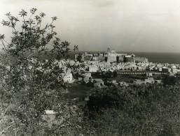 Italie Sicile Lipari Panorama Ancienne Photo 1961 - Places
