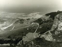 Italie Sicile Presqu'ile De Trapani Panorama Ancienne Photo 1961 - Places