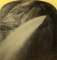 Suisse Trummelbach Falls Lauterbrunnen Ancienne Photo Stereo Gabler 1885 - Stereoscopic