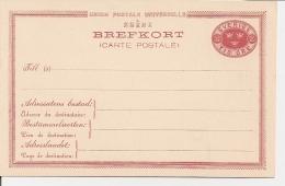 Schweden P 13a ** -  10 Öre Drei Kronen - Postal Stationery