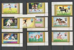 0231a/ Umm Al Qiwain N° 466/75 Jeux Olympiques (olympic Games) MUNICH  72 Coin De Feuille - Sommer 1972: München