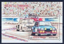 """FRANCE 2018 N° F5205 BLOC A 1.60 € / """" RENAULT MAXI 5 TURBO-fète Du Timbre """" SUPERBE OBLITERE CIRCULAIRE - Oblitérés"""