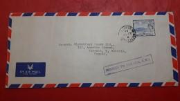 Enveloppe Une Colonie Britannique St KITTS Par Paquebote La Jamaïque - St.Christopher, Nevis En Anguilla (...-1980)