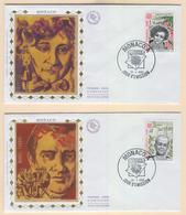 MONACO Europa 1980 (Important Personalities) First Day Cover Mi. Nr. 1421-1422 - Europa-CEPT