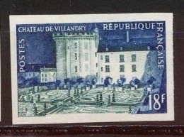 France N°995 Chateau (castle) De Villandry (Touraine) Non Dentelé * MH (Imperforate) - France
