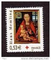 2005-. N°3840**CROIX ROUGE - France