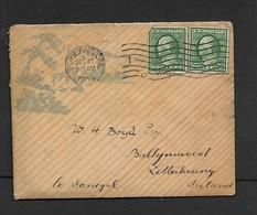U.S.A. Portland Seaman's Friend Society, 2c PORTLAND ORE OC 27 1909 > LETTERKENNY, Ireland - Brieven En Documenten
