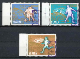 Yemen Royaume (kingdom) - 4019/ N° 260 / 262 Jeux Olympiques (olympic) Overprint ** MNH Cote 240 Euros Football (Soccer) - Sommer 1964: Tokio