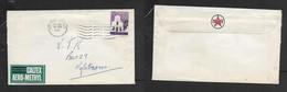 S.Africa 1961 Caltex Envelope  & CALTEX AERO-METHYL Label,  2 1/2c Cover POTGEITERSRUS 14 VIII 61 - South Africa (1961-...)