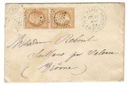 4460 - R. DU FAUBg St HONORE - Marcophilie (Lettres)