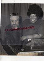 87 - LIMOGES -JAZZ - JEAN MARIE MASSE ET MARION WILLIAMS DANS LES COULISSES DU LIDO- HOT CLUB- CONCERT DU 14 MARS 1972 - Personalidades Famosas
