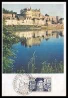 Départ 1 Euro France N° 929 De Vinci Da Vinci Grand Cachet Congres AMBOISE Cote Y&t 850 Euros Carte Maximum 1er Jour - FDC