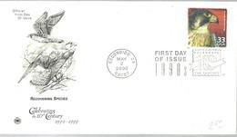 FDC USA  2000 - Águilas & Aves De Presa