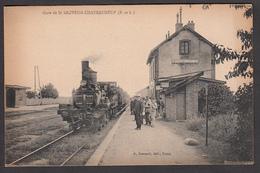 28 - ST SAUVEUR-CHATEAUNEUF - Gare De St Sauveur - Châteauneuf - Autres Communes