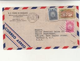 Guatemala, City To Buffalo N.Y.- U.S.A.- Cover 1945 - Guatemala