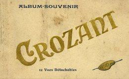 23 CROZANT - Album-Souvenir De 11 Cartes Postales Détachables - Crozant