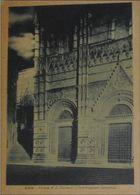 SIENA - Chiesa Di San Giovanni Di Notte - Notturno Al Chiaro Di Luna - Visione Romantica - 1942 - Siena