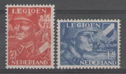 PAYS-BAS:  N°393/394 **       - Cote 11,50€ - - Period 1891-1948 (Wilhelmina)