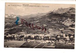 RARE CPA: BARCELONNETTE Vue Centrale Vallée De L'Ubaye - Barcelonnette