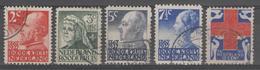 PAYS-BAS:  N°190/194 Oblitérés      - Cote 32€ - - Period 1891-1948 (Wilhelmina)