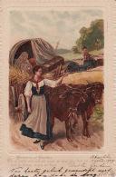 Cvb 1. Johann Wolfgang Von Goethe, Hermann Und Dorothea, Postkartenverlag Paul Fink, Berlin1904 - Schrijvers