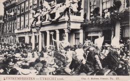Cvb 4. Lustrumfeesten Utrecht 1906 Optocht Tulpkaart Uitgave Huibers No. 27 - Utrecht