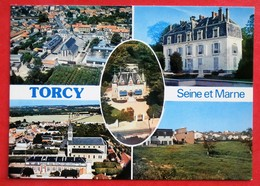 Cpsm Cpm 77 TORCY Multivues - Torcy