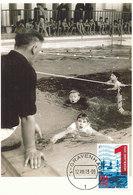 D34441 CARTE MAXIMUM CARD FD 2013 NETHERLANDS - TEACHING CHILDREN SWIMMING CP ORIGINAL - Swimming