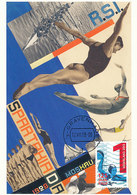 D34444 CARTE MAXIMUM CARD RR FD 2013 NETHERLANDS - WATERPOLO - DETAIL ON CARD CP ORIGINAL - Water Polo
