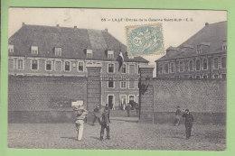 LILLE : Entrée De La Caserne Saint Ruth. 2 Scans. Edition E C - Lille