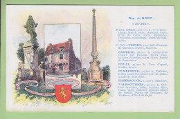 Département Du Nord Par Les Pastilles Valda. TBE.  2 Scans. - Unclassified