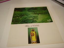 ANCIENNE AFFICHE  PUBLICITE PARFUM CALECHE DE HERMES 1978 - Unclassified