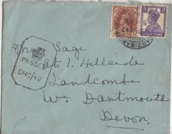 India   KG VI  1942  Sabzimandi / England  Censored Cover  #  09924  D Inde Indien - India (...-1947)