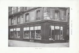 1909 - Iconographie - Paris (8ème) - Porcelaines Damon 20 Boulevard Malesherbes - FRANCO DE PORT - Ohne Zuordnung