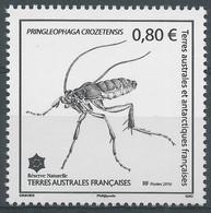 "TAAF 2016 : ""Pringleophaga Crozetensis""  - Neuf ** - - French Southern And Antarctic Territories (TAAF)"