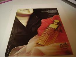 ANCIENNE AFFICHE  PUBLICITE PARFUM CALECHE DE HERMES 1979 - Perfume & Beauty