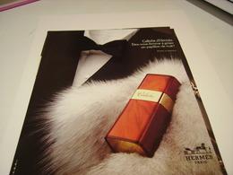 ANCIENNE AFFICHE  PUBLICITE PARFUM CALECHE DE HERMES 1983 - Perfume & Beauty