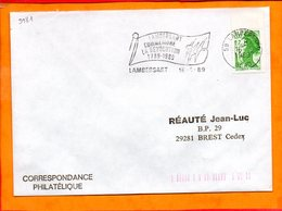 NORD, Lambersart, Flamme SCOTEM N° 9981, Lambersart Commemore La Révolution - Oblitérations Mécaniques (flammes)