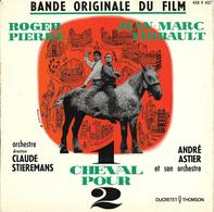 "B-O-F  André Astier / Roger Pierre / Jean-Marc Thibault  ""  1 Cheval Pour 2  "" - Filmmusik"