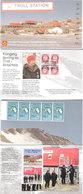 Norway 2005 Folder Troll In Antarctica - Troll Station Queen Mauds Land Mi 413x5 And Special Cancelation Troll - Briefe U. Dokumente